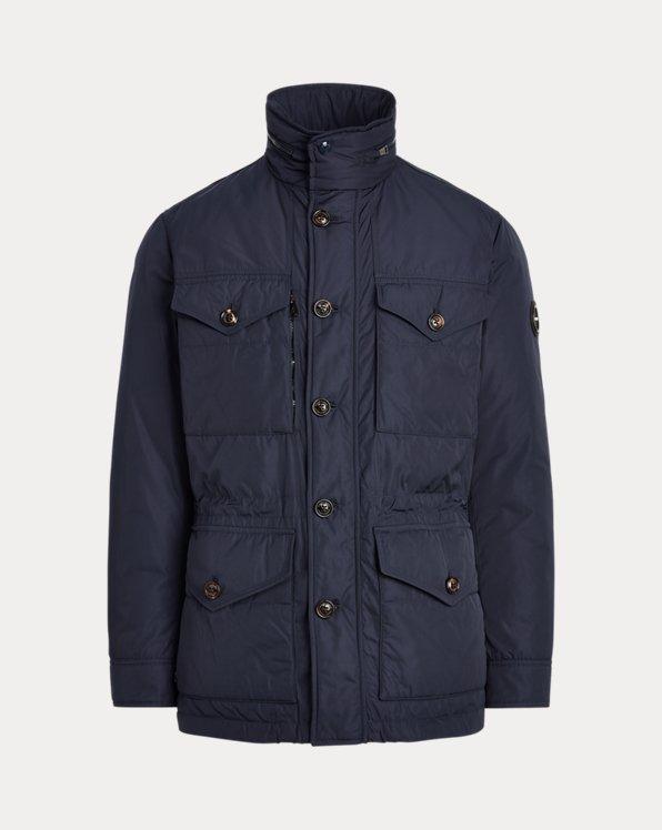 Water-Repellent Down Field Jacket