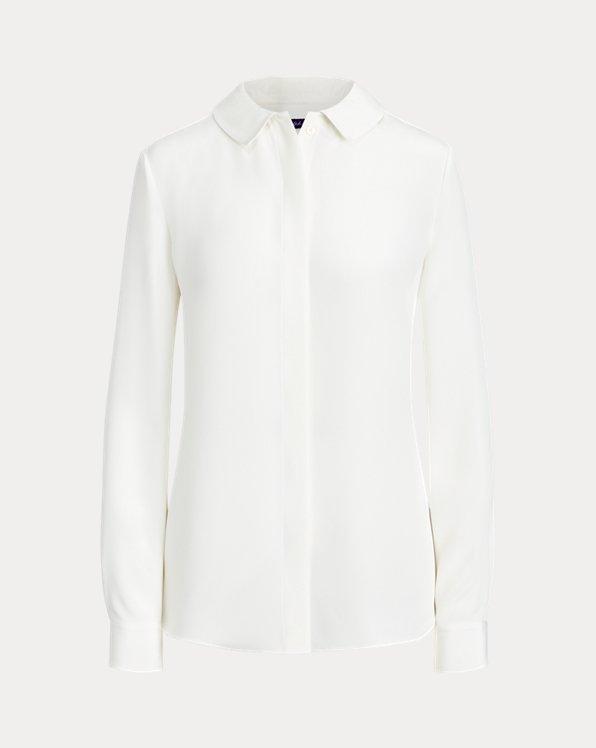 Annabeth Silk Marocain Shirt