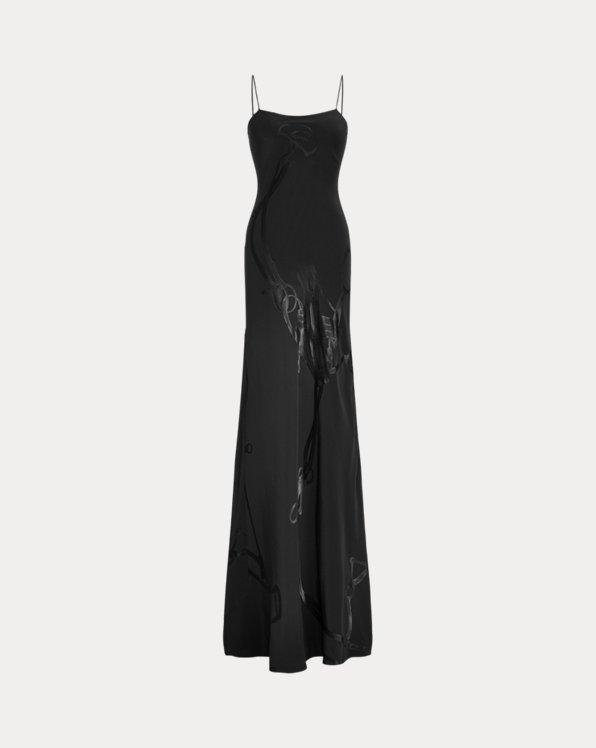 Marianna Bridle Jacquard Evening Dress
