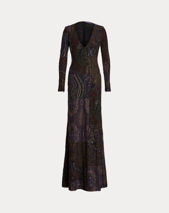 Kasandra Embellished Stretch Tulle Dress