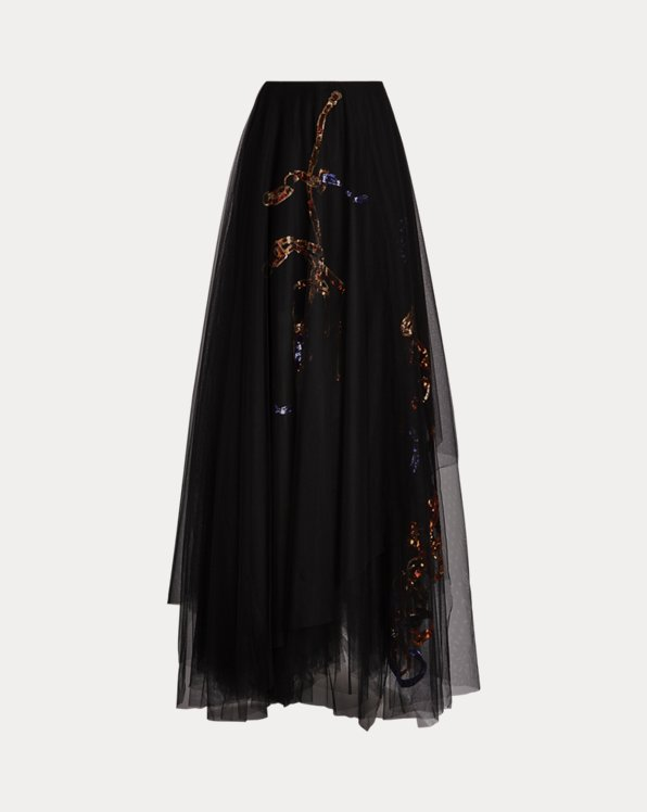 Sonnet Sequined Tulle Skirt