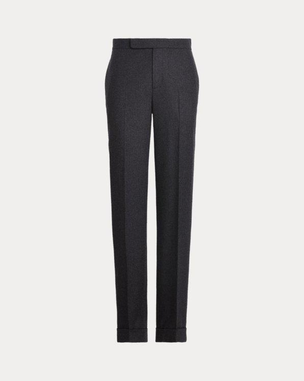 Aubree Virgin Wool Flannel Pant
