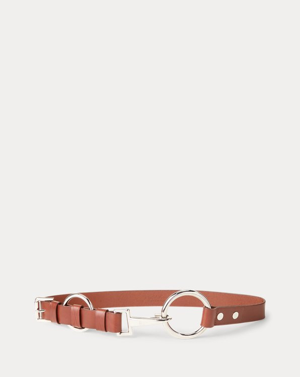 Double-O-Ring Leather Belt