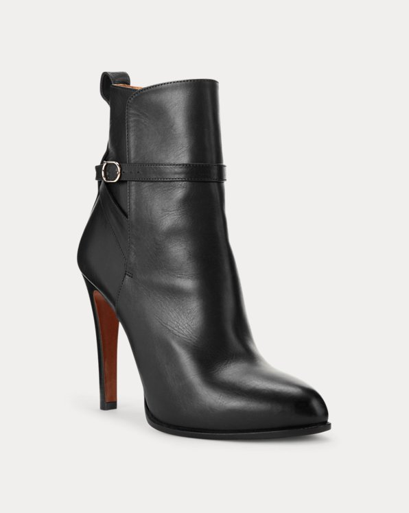 Sarafina Buckled Calfskin Boot