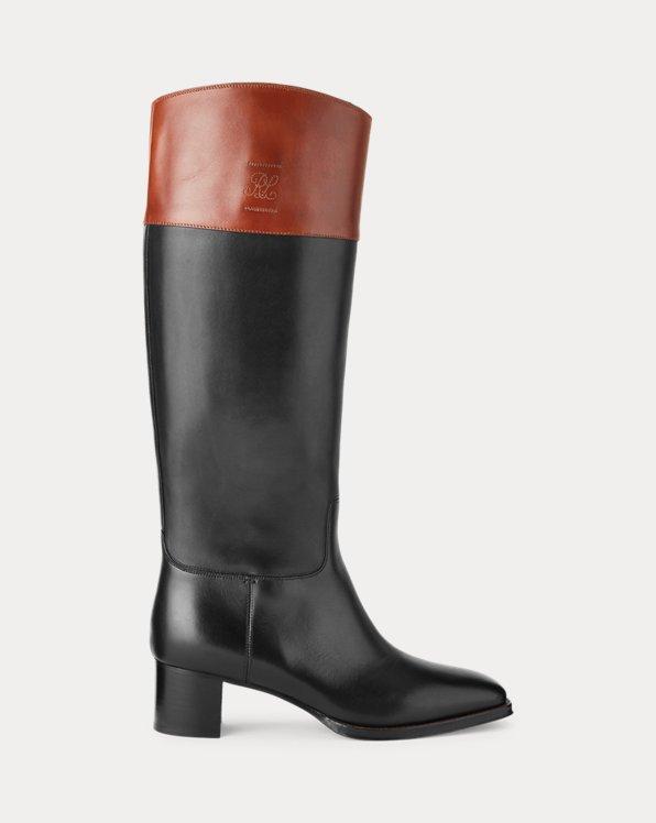 Alyshia Calfskin Boot