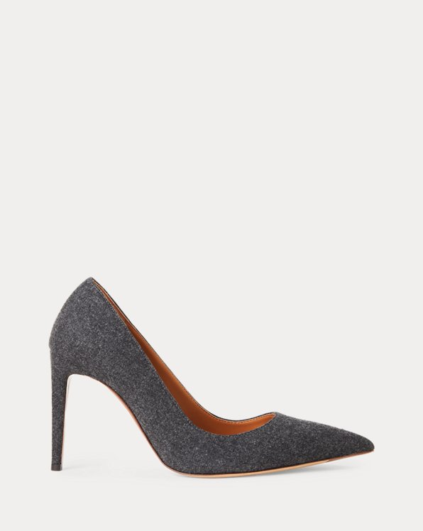 Armissa Wool Flannel Pump