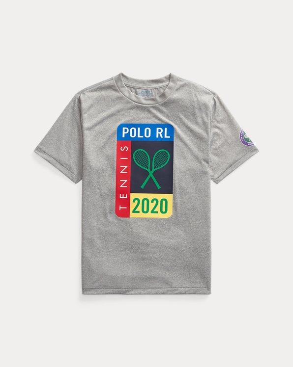 T-shirt Wimbledon graphique en jersey