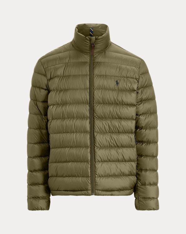 Packable Water-Repellent Down Jacket