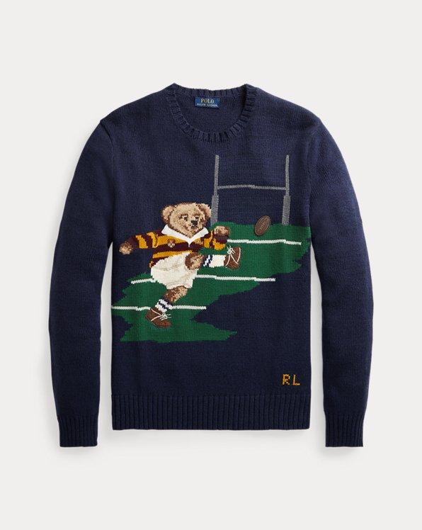 Kicker Polo Bear Cotton-Linen Jumper
