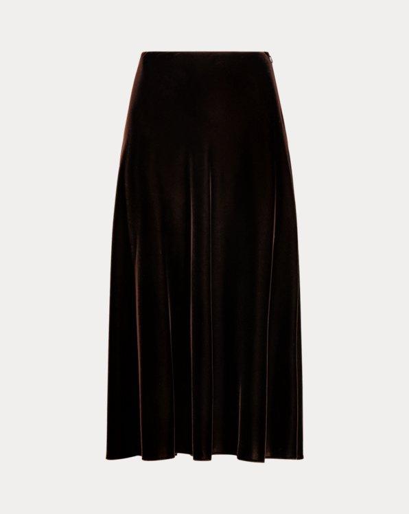Zoie Velvet A-Line Skirt