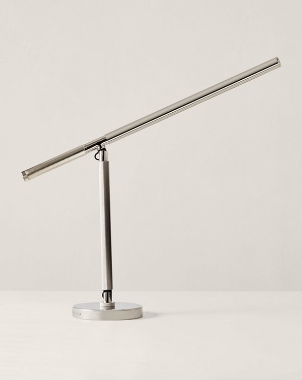 Barrett Knurled Boom Arm Desk Light
