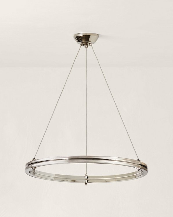 """Paxton 32"""" Ring Chandelier"""
