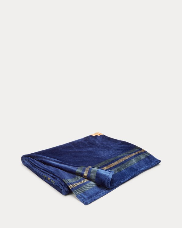 Chapman Polo Bear Throw Blanket