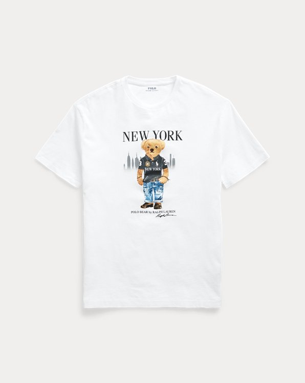 Custom Slim Fit New York Bear Tee