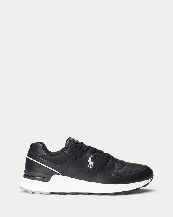 Ledersneaker Trackster 100