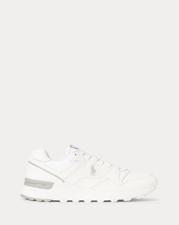 Sneaker Trackster 100 in pelle