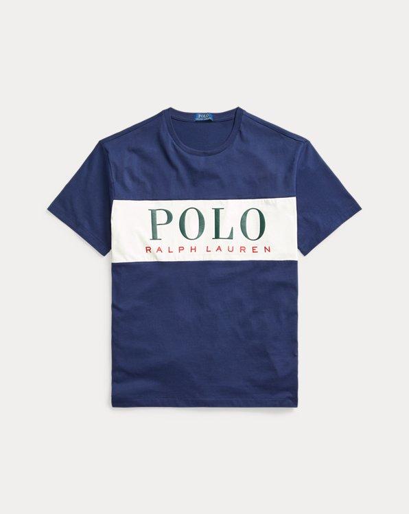 T-shirt coupe classique à logo en jersey