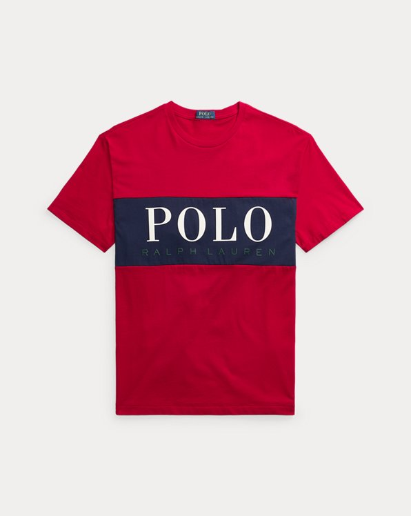 T-shirt logo coupe classique