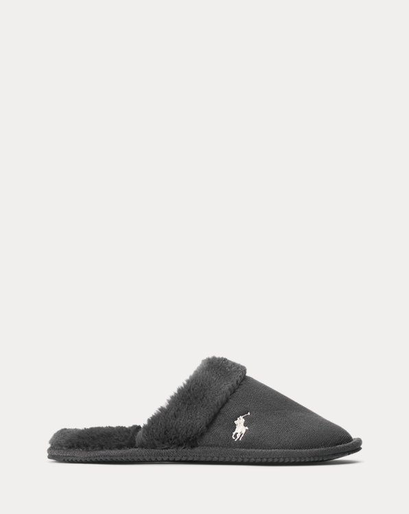 Faux-Suede Slipper