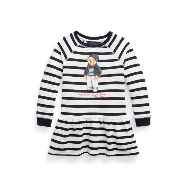 Polo Ralph Lauren POLO BEAR COTTON FLEECE DRESS