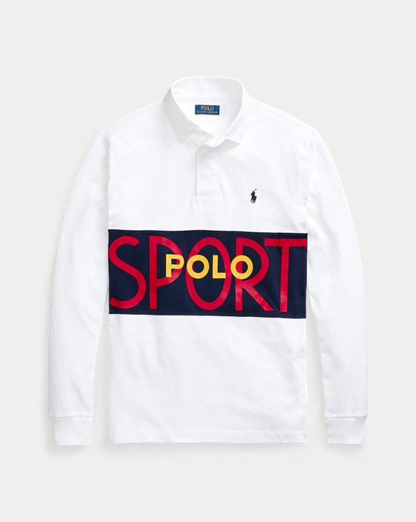 Custom Slim Fit Polo Rugby Shirt