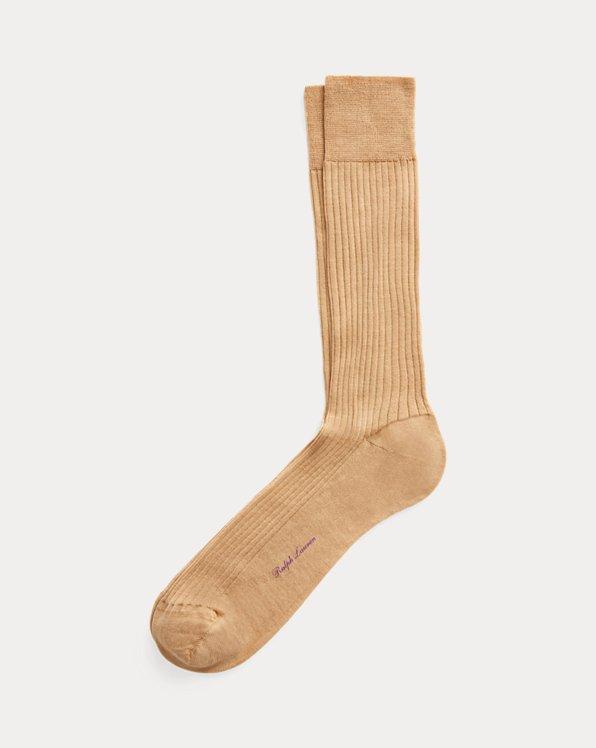 Merino Wool-Blend Slack Socks