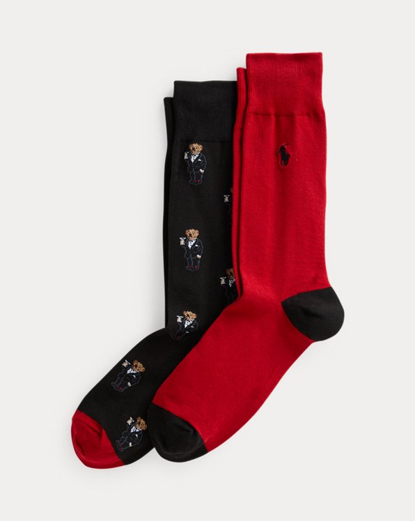 Polo Bear Trouser Sock 2-Pack