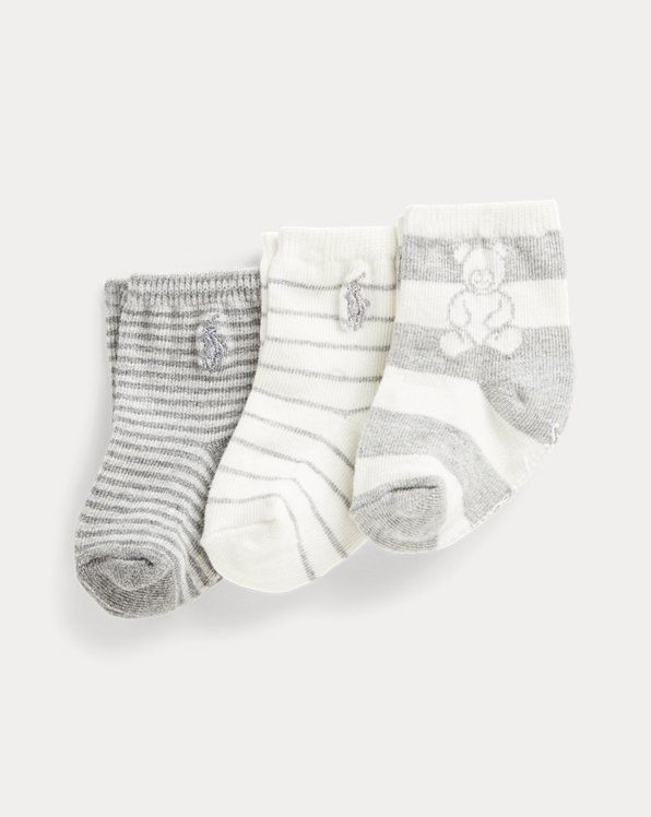 Polo Bear Sock 3-Pack