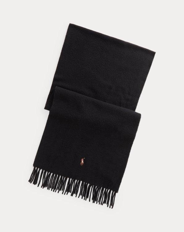 Fringe Virgin Wool Scarf