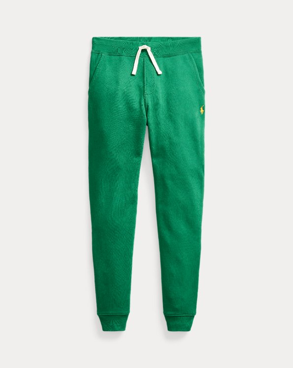 Cotton-Blend-Fleece Joggers