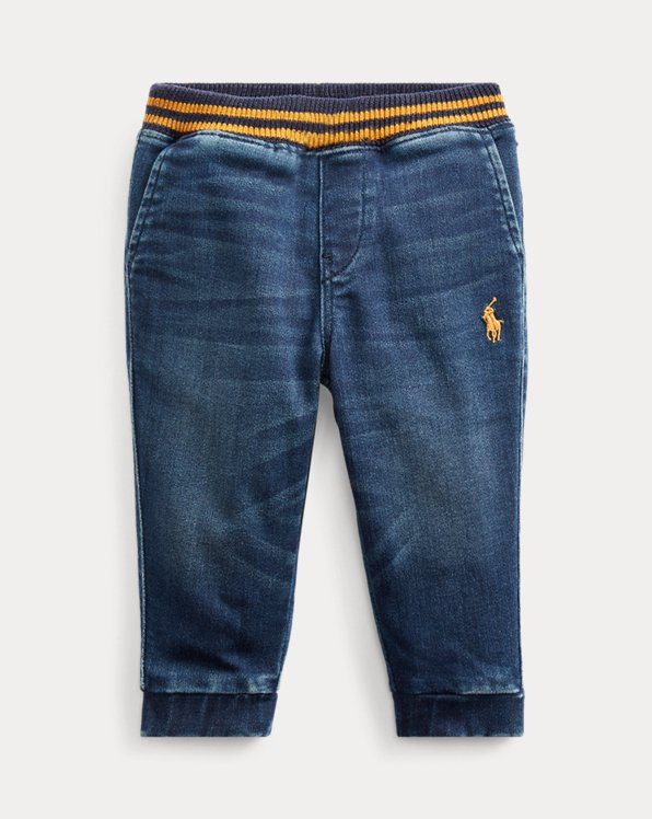 Stretch Denim Jogger