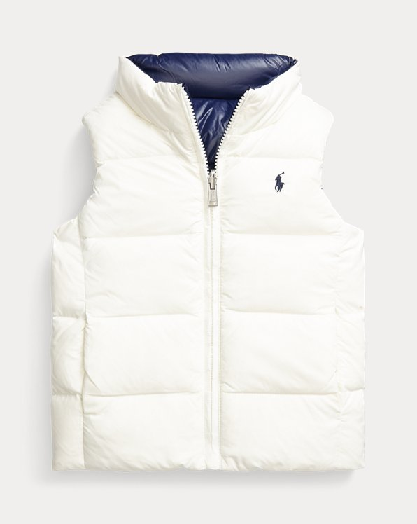 Quilted Reversible Down Gilet