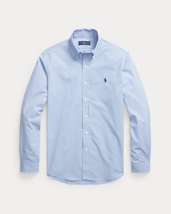 Custom Fit Sueded Poplin Shirt