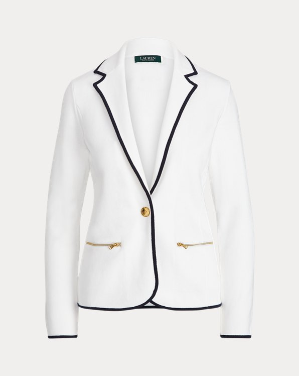 Cotton Jumper Blazer