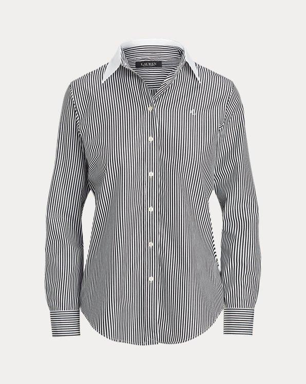 Pinstripe Cotton Shirt