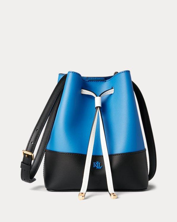 Leather Debby II Drawstring Bag