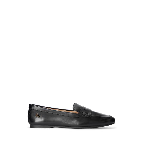Adison Burnished Leather Loafer