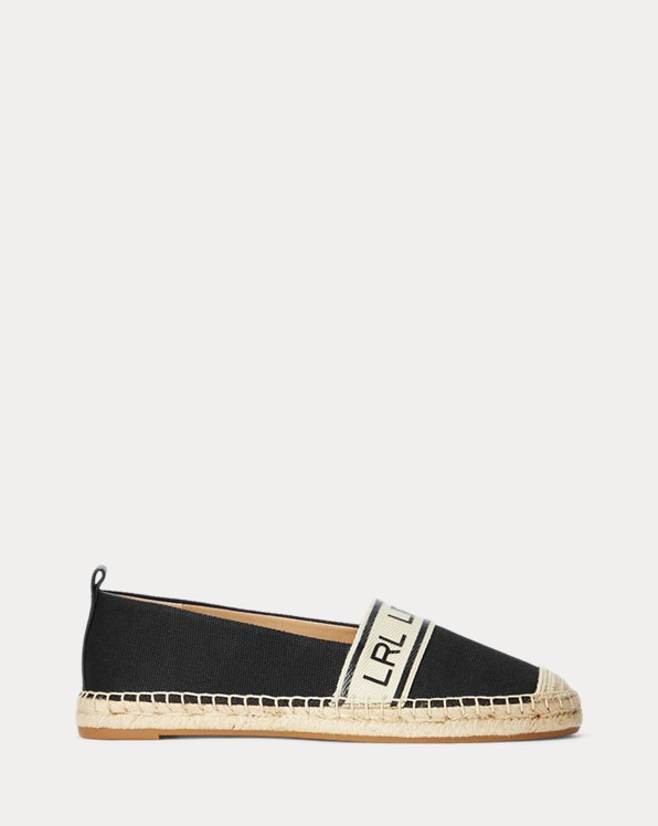Caylee Two-Tone Canvas Espadrille