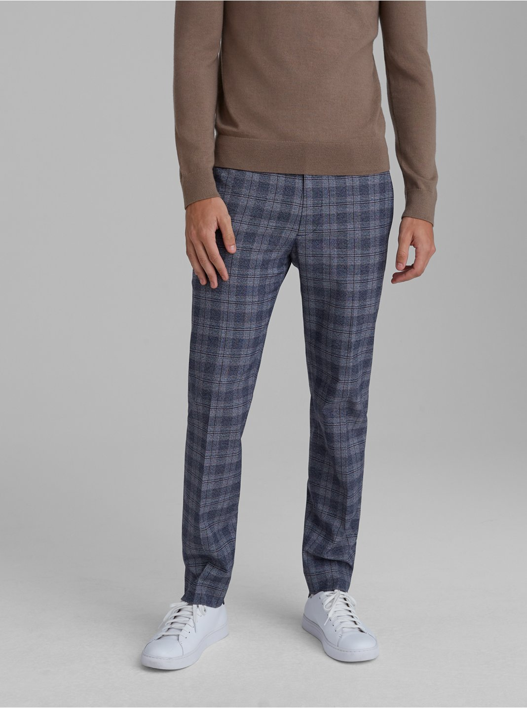 Sutton Plaid Dress Pants