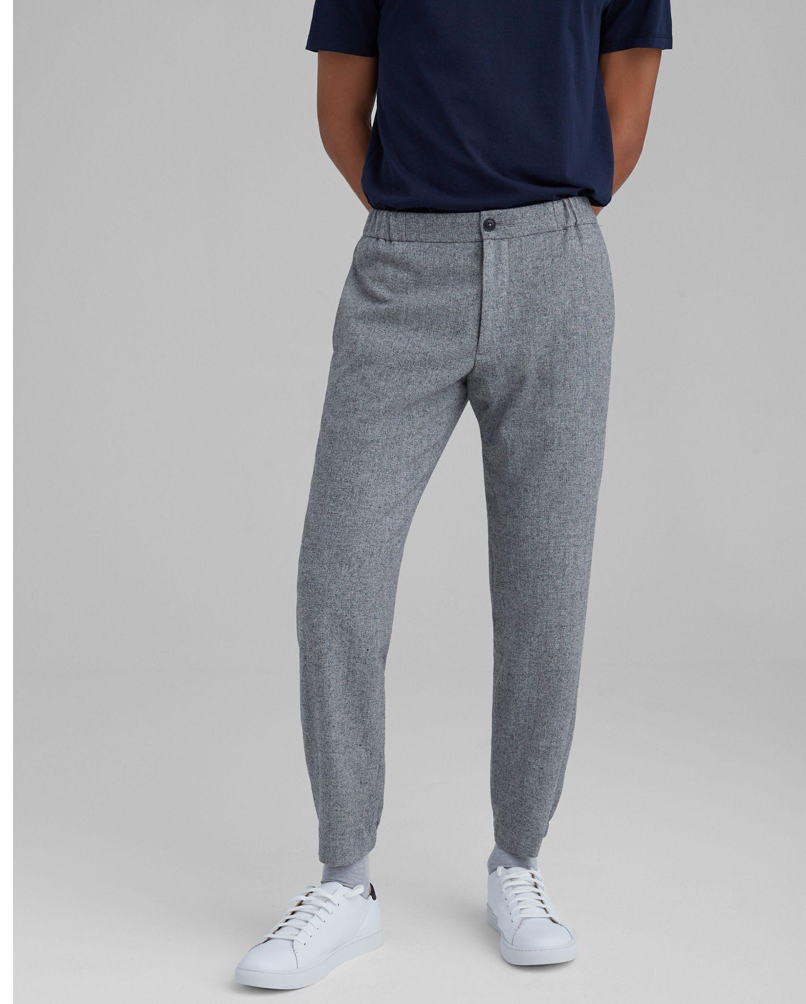 CLUB MONACO Lex Tweed Trousers