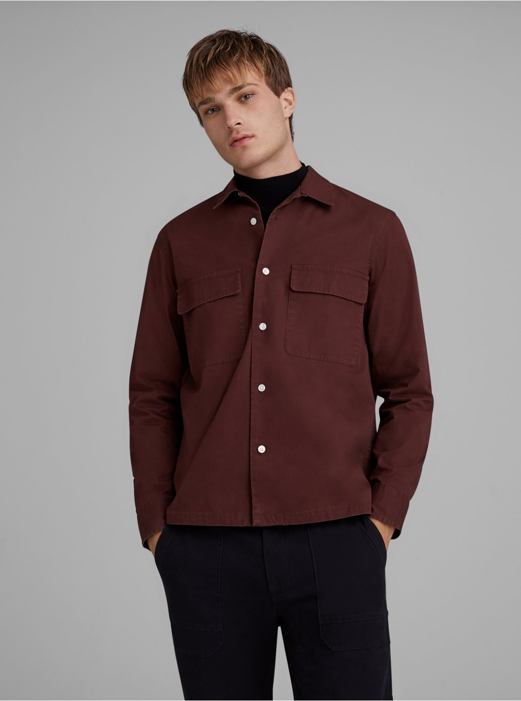 Loop Collar Workshirt
