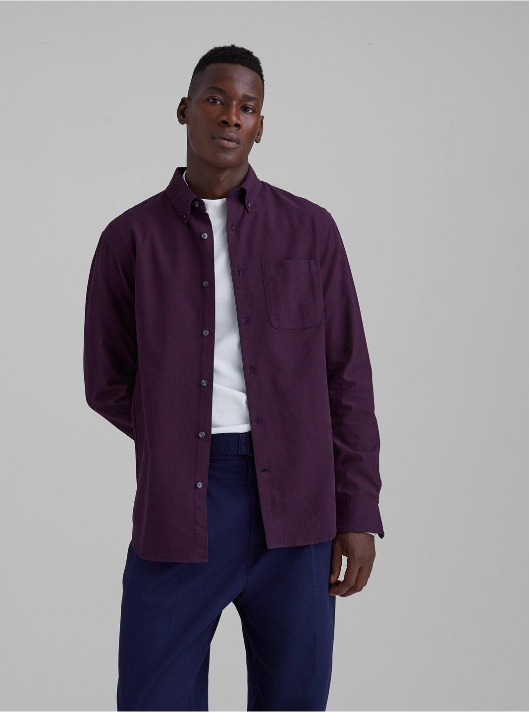 Oxford Mini Check Shirt