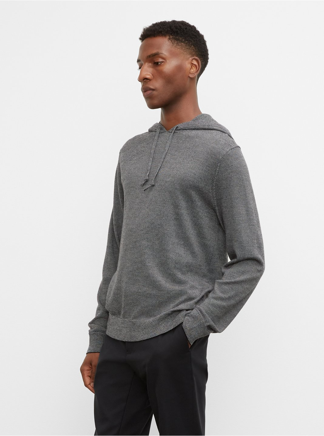 Merino End-on-End Hoodie