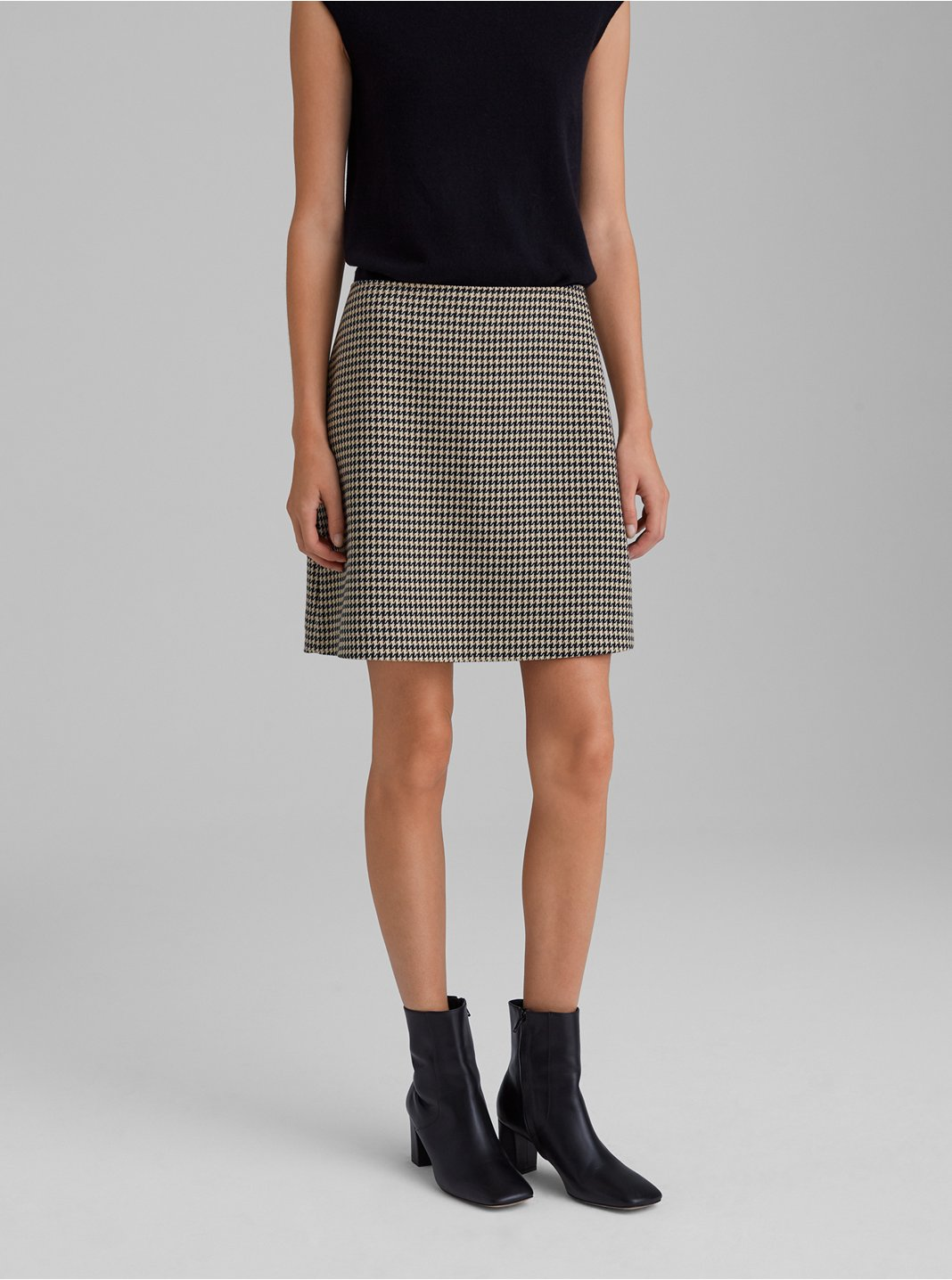 Houndstooth Centie Skirt