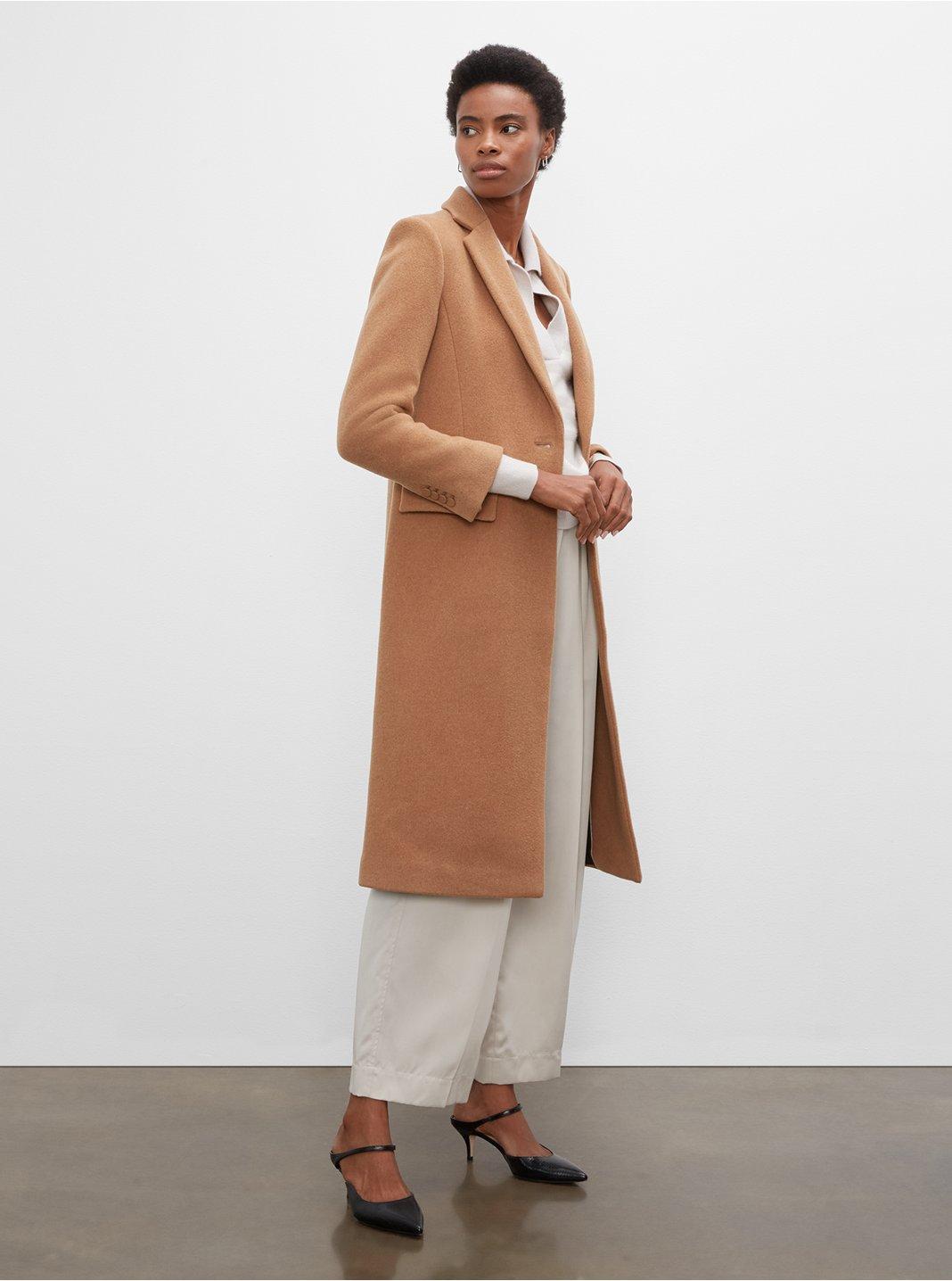 클럽 모나코 슬림 테일러드 코트 Club Monaco Slim Tailored Coat,Camel