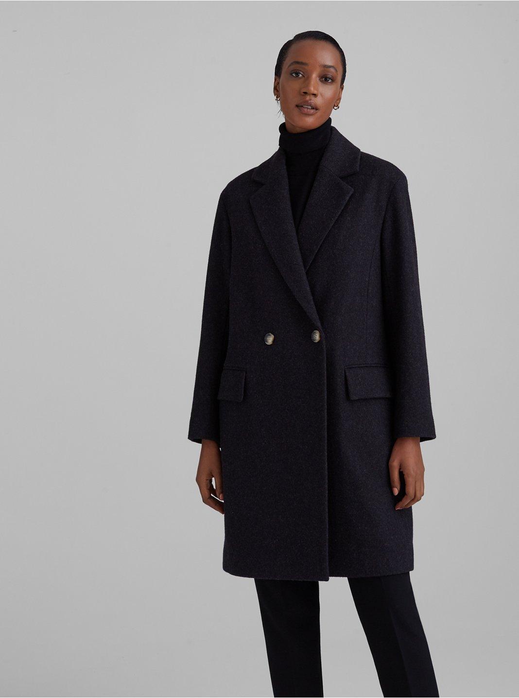 Manteau croisé décontracté