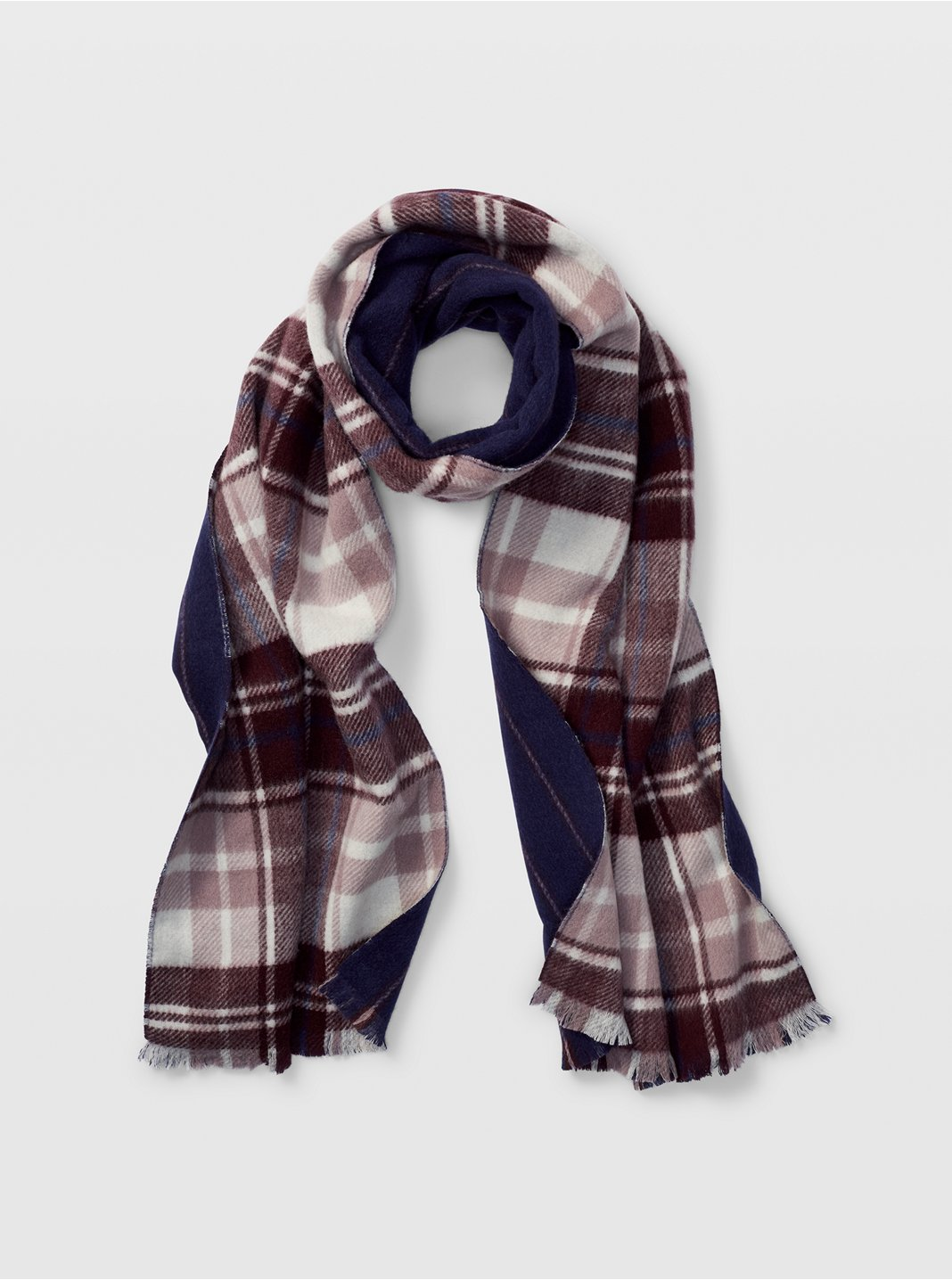 Plaid Striped Scarf