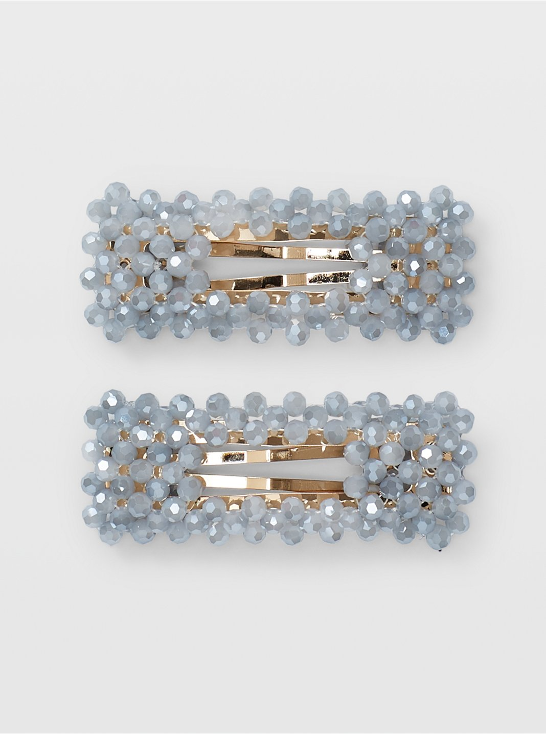 Beaded Clip Set