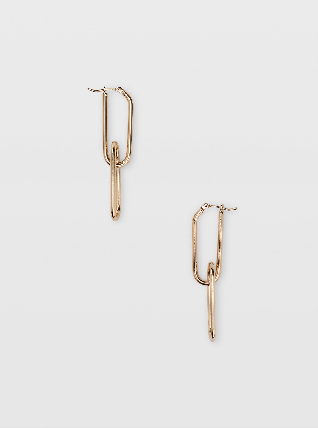 Link Drop Earrings