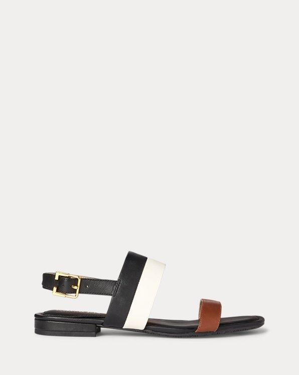 Kristi Nappa Leather Sandal